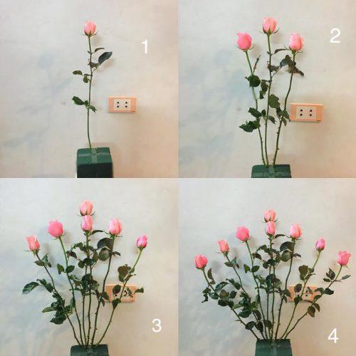 Cách cắm hoa trong lọ thủy tinh cao, bạn biết chưa?